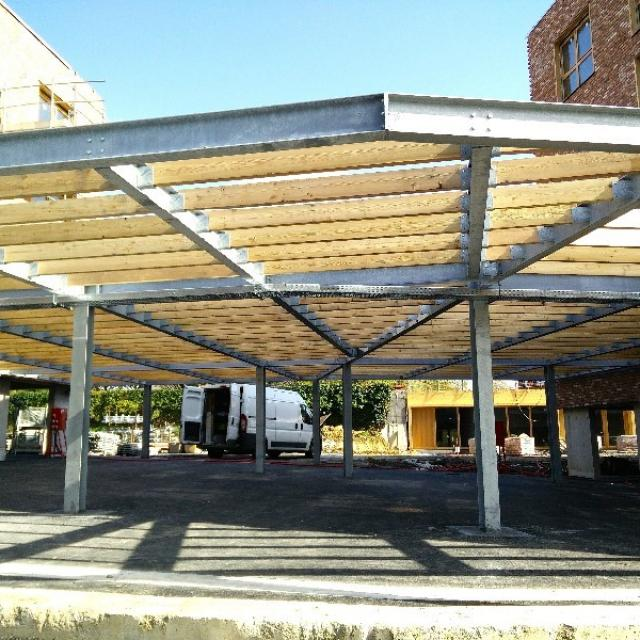 Carport/Charpente métallique